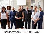 portrait of multi cultural... | Shutterstock . vector #361832609