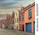 Bruges Historical Pitched Roof...