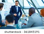 business presentation | Shutterstock . vector #361845191