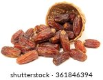 delicious fresh organic dates... | Shutterstock . vector #361846394