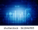 2d business graph background | Shutterstock . vector #361846985