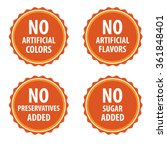 additives free stamp vector...   Shutterstock .eps vector #361848401