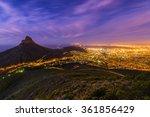 cape town's lion's head... | Shutterstock . vector #361856429