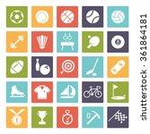 sports and gymnastics vector... | Shutterstock .eps vector #361864181