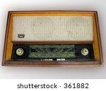 old classic radio | Shutterstock . vector #361882
