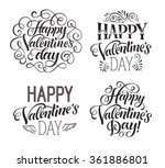 vector illustration set with... | Shutterstock .eps vector #361886801