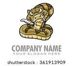 Snake Character Illustration...