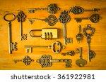 Multiple Vintage Keys And...