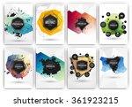 poster or flyer design template ... | Shutterstock .eps vector #361923215