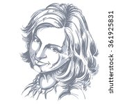 hand drawn vector illustration... | Shutterstock .eps vector #361925831