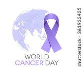 world cancer day  | Shutterstock .eps vector #361932425