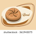 bread and bakery design  | Shutterstock .eps vector #361943075