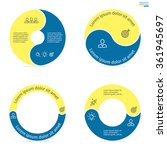 Circular Infographics Step By...