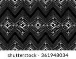 geometric ethnic pattern design ...   Shutterstock .eps vector #361948034