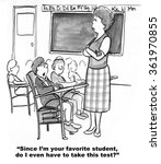 education cartoon.  the boy... | Shutterstock . vector #361970855