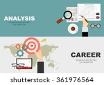 flat design illustration... | Shutterstock .eps vector #361976564