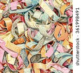 multicolored confetti as... | Shutterstock . vector #361998491