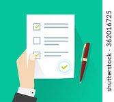 school exam test results vector ...   Shutterstock .eps vector #362016725