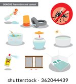 dengue prevention and control | Shutterstock .eps vector #362044439