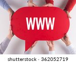 group of people message talking ...   Shutterstock . vector #362052719