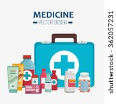 medical healthcare graphic | Shutterstock .eps vector #362057231
