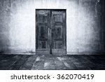 wide grunge vintage background... | Shutterstock . vector #362070419