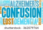 confusion word cloud on a white ... | Shutterstock .eps vector #362079764