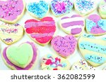close up of a variety of... | Shutterstock . vector #362082599
