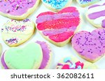 close up of a variety of... | Shutterstock . vector #362082611