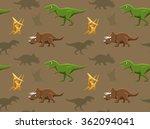 Dinosaurs Wallpaper Vector...