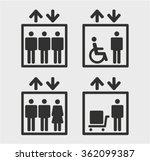 symbol passenger  freight... | Shutterstock .eps vector #362099387