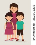 family unity design | Shutterstock .eps vector #362101331