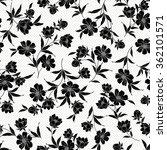 flower illustration pattern | Shutterstock .eps vector #362101571