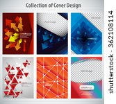 collection of colorful cover... | Shutterstock .eps vector #362108114