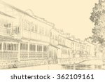 china town | Shutterstock . vector #362109161