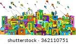 makar sankranti colour   Shutterstock .eps vector #362110751
