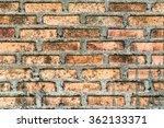 brick wall background | Shutterstock . vector #362133371