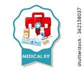 medical care design    Shutterstock .eps vector #362158037