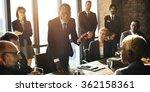 teamwork togetherness unity... | Shutterstock . vector #362158361