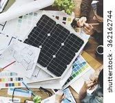 solar cell energy environmental ... | Shutterstock . vector #362162744