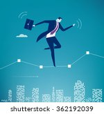 balance. business illustration. ... | Shutterstock .eps vector #362192039