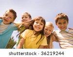 Portrait Of Happy Children...