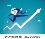 global success. business concept | Shutterstock .eps vector #362200409