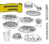 hand drawn vector illustration  ... | Shutterstock .eps vector #362221889