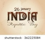 indian republic day concept...   Shutterstock .eps vector #362225084