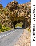 mountain pass road tunnel... | Shutterstock . vector #362230271