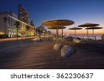 Te Aviv Promenade. Image Of Te...