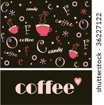 coffee background | Shutterstock .eps vector #36227122