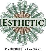 esthetic linear rosette | Shutterstock .eps vector #362276189