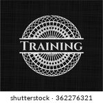 training with chalkboard texture | Shutterstock .eps vector #362276321